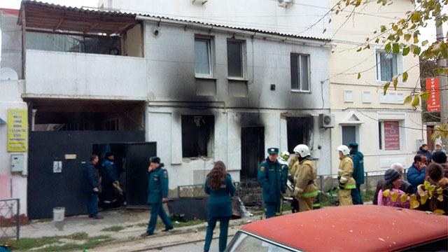 ВЕвпатории «хлопнул» газ— обгорела женщина